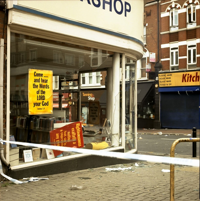 Morning After The Riots - Daniel Ali Photography & Moving Image