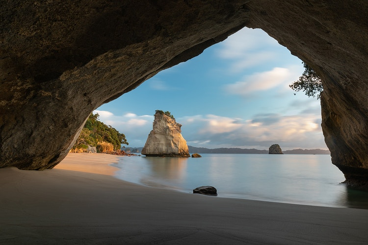 Cathedral Cove In New Zealand - the location of one of the scenes in the Chronicles of Narnia - Daniel John Photography