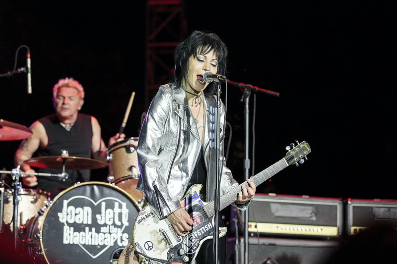Joan Jett & The Black Hearts - Dani Sacco Photography