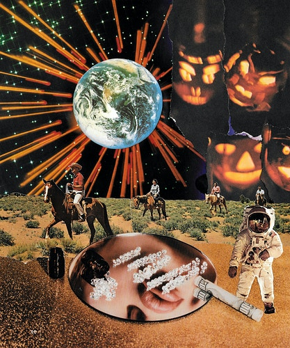 Analog Collage - Dann K Miller