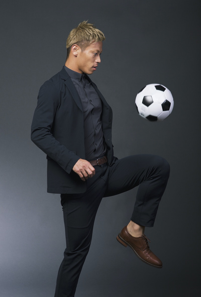 Keisuke Honda X Ministry Of Supply - GET SOME GOOD SHOTS