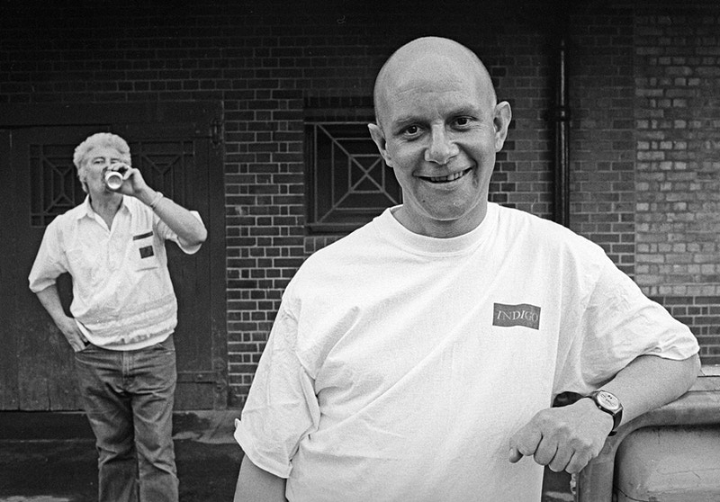 Nick Hornby - Darren Filkins - London Corporate Photography - Editorial Portraits - Executive Portraits - Annual Reports