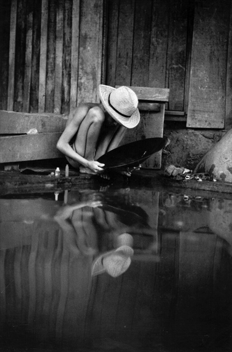 Boy Panning For Gold - Filkins Studio