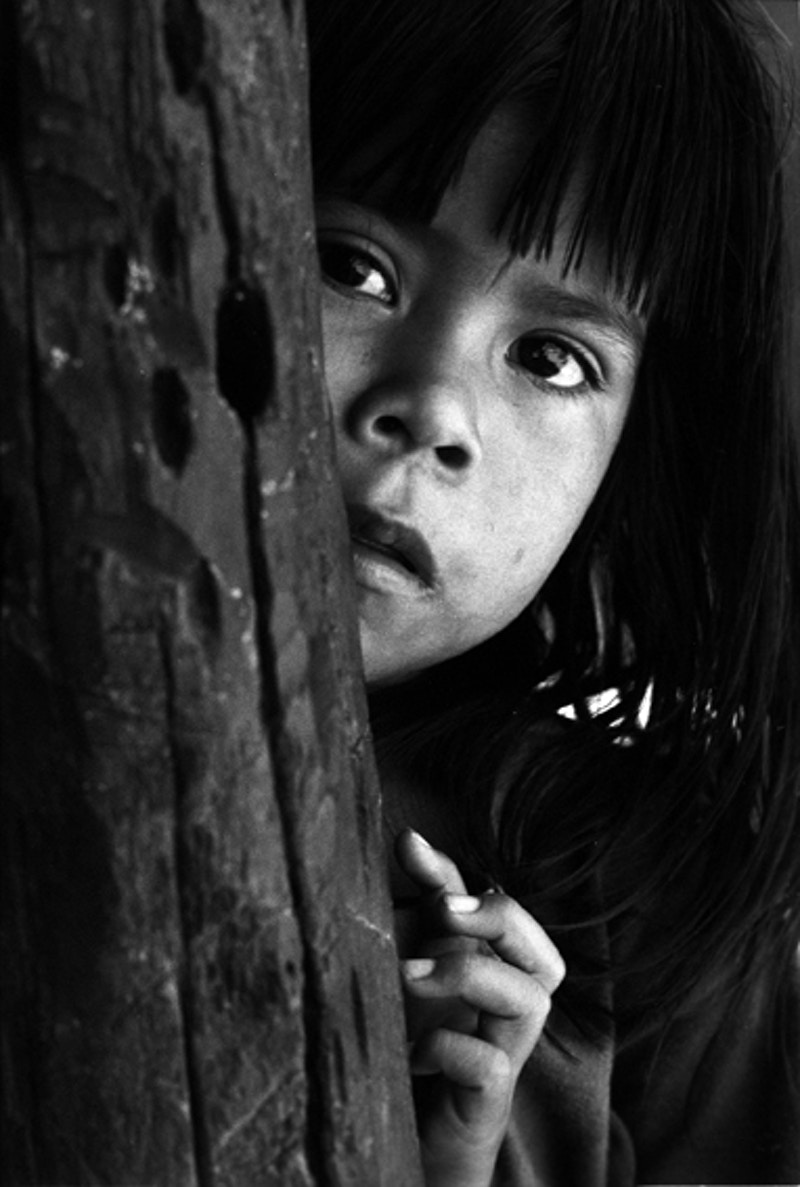 Carajas Indian Child - Darren Filkins Photographer