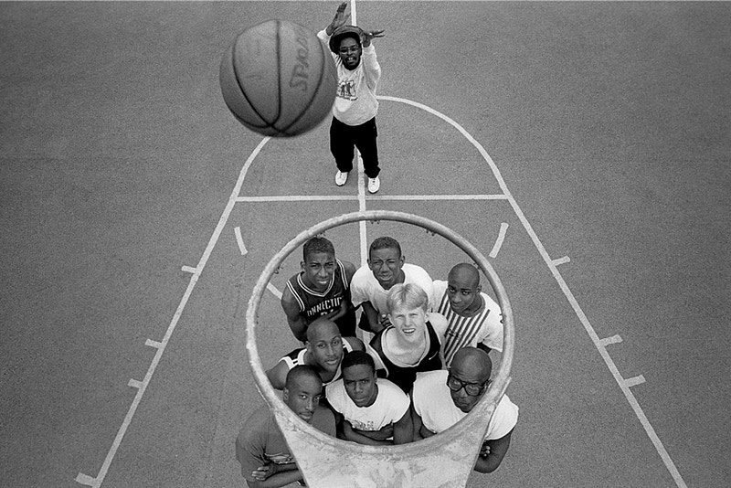 XXL Basketball Team - Filkins Studio