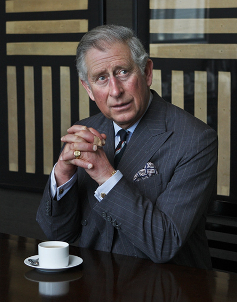 HRH Prince Of Wales - Darren Filkins - London Corporate Photography - Editorial Portraits - Executive Portraits - Annual Reports