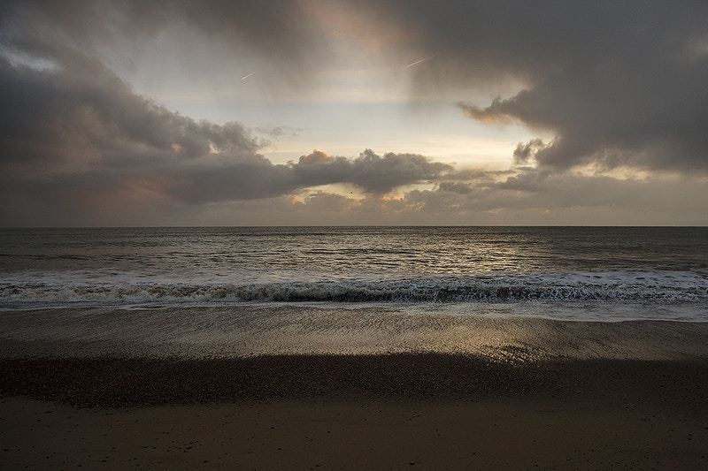 Suffolk Coast - First Light - Filkins Studio