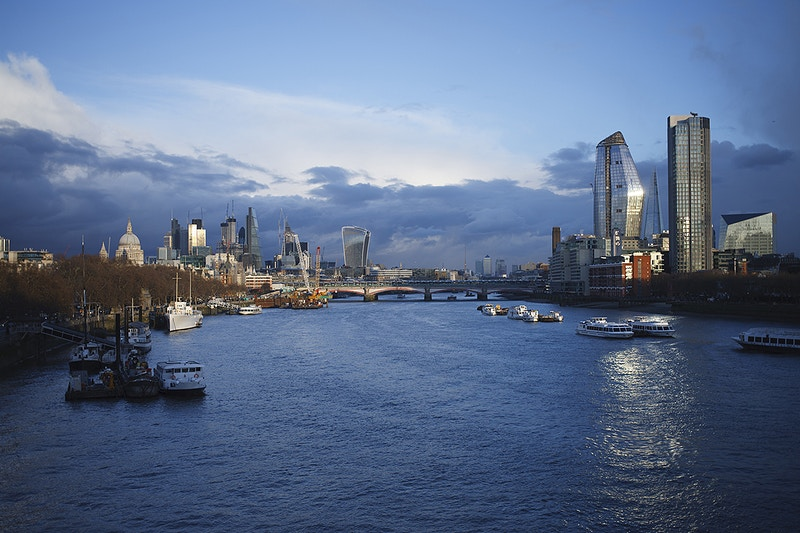 London - From Waterloo Bridge - Darren Filkins Photographer