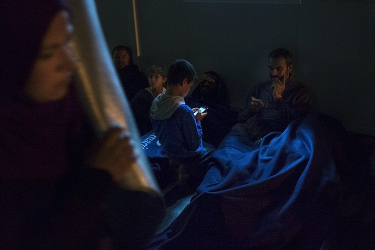 No Way Out Refugees Caught Up In Greece - David Julià