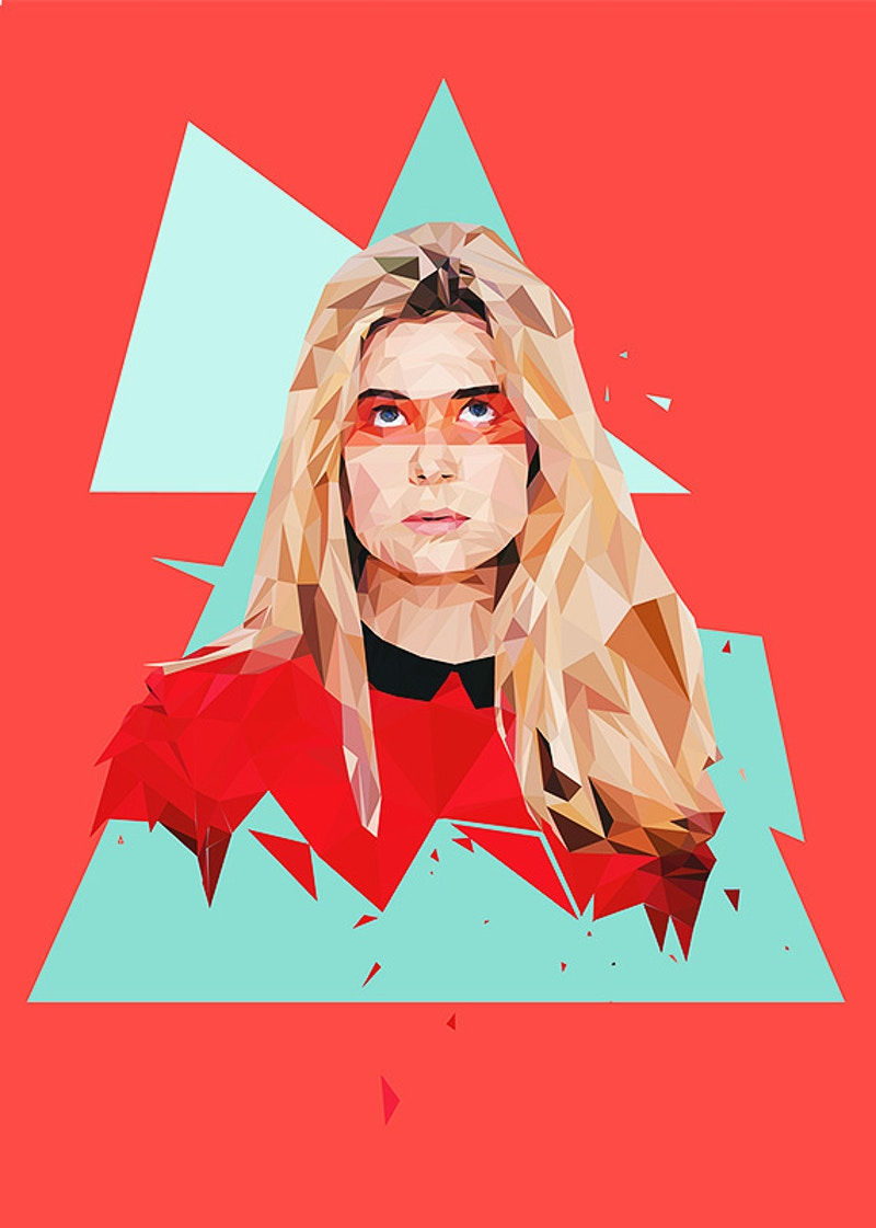 Low Poly Portraits - David Schermann Photography