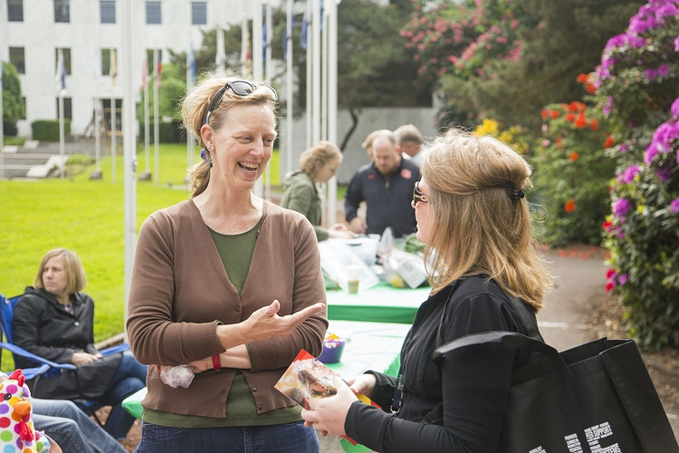 Dawn and Interested Attendee - Dawn J. Williamson, LCSW