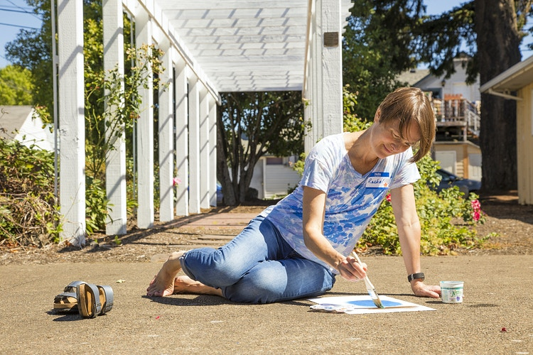 Painting in the Sun - Dawn J. Williamson, LCSW