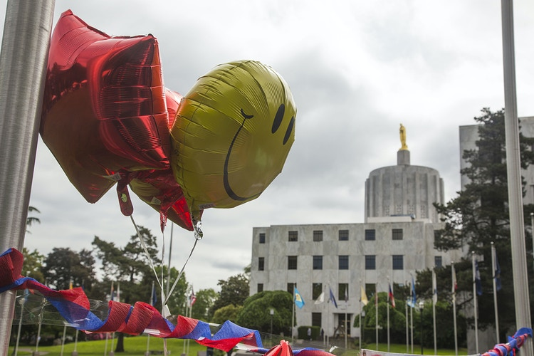 Balloons at the Capitol - Dawn J. Williamson, LCSW