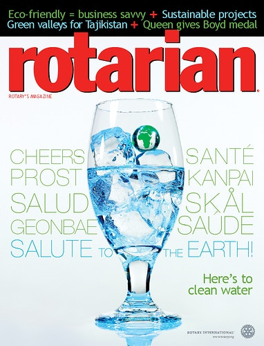 Rotarian Magazine - Chicago Food, Beverage and Product Photography | Deborah Fletcher