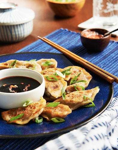 Chef Ronak Patel - Potstickers - Deborah Fletcher | Chicago Food • Product • Still-Life Photographer