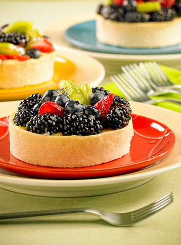 Fruit Tarts - Chicago Food, Beverage and Product Photography | Deborah Fletcher