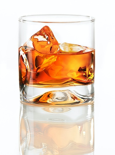 Whiskey on the rocks - Chicago Food, Beverage and Product Photography | Deborah Fletcher