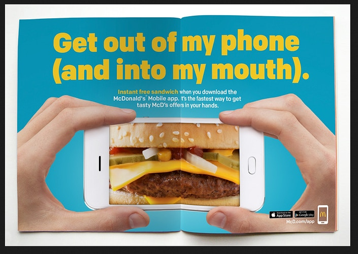 McDs Mobile App Test - Chicago Food, Beverage and Product Photography | Deborah Fletcher