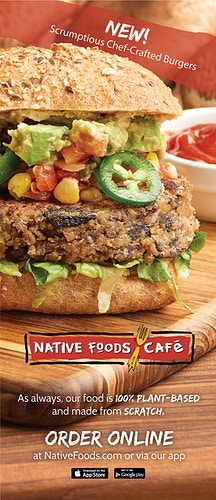 Native Foods Cafe - Chicago Food, Beverage and Product Photography | Deborah Fletcher