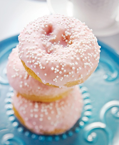 PINK MINI DONUTS - Deborah Fletcher | Chicago Food • Product • Still-Life Photographer