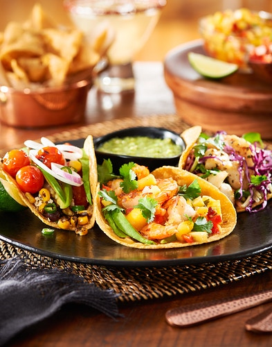 Tres Tacos - Deborah Fletcher | Chicago Food • Product • Still-Life Photographer