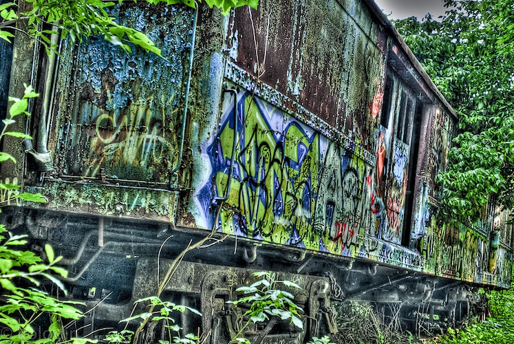 Abandoned (HDR) - dGkPhotography