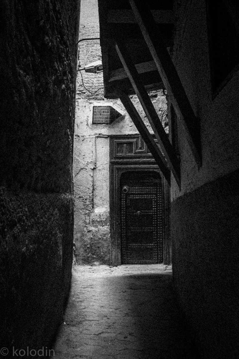 Doorway in Medina - Fez - dGkPhotography
