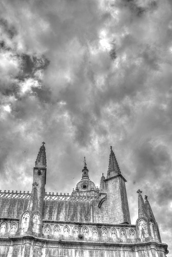 Burgos Cathedral and Heaven - dGkPhotography