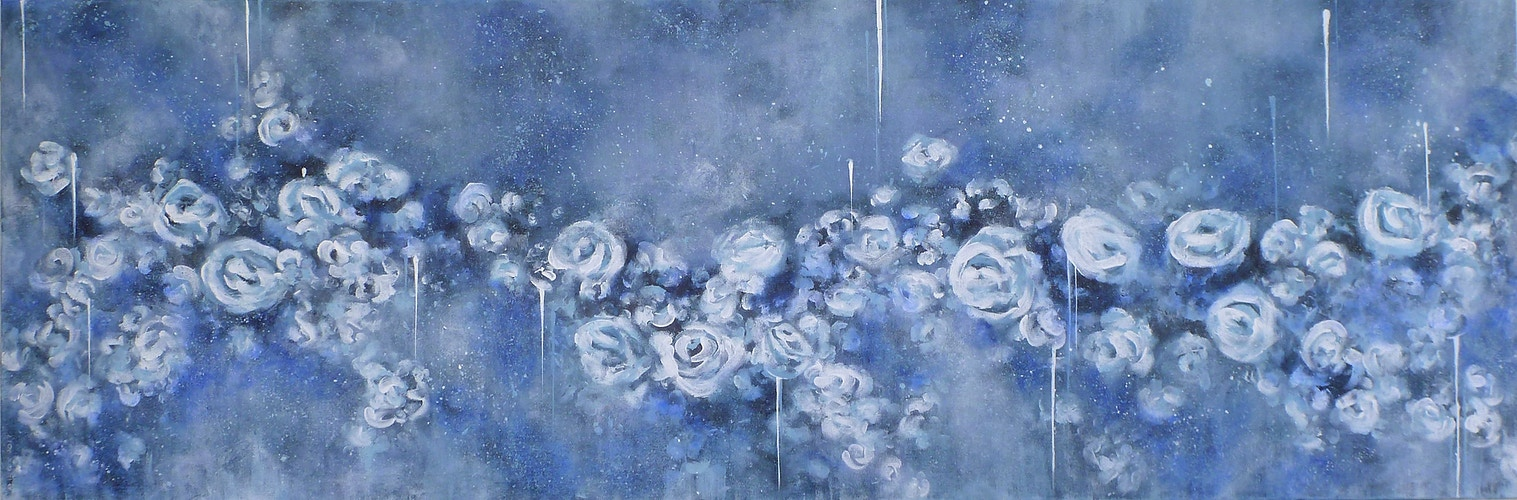 Denim Rose - Di Cox Gallery