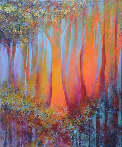 Woodland Reverie [sold] - Di Cox Gallery