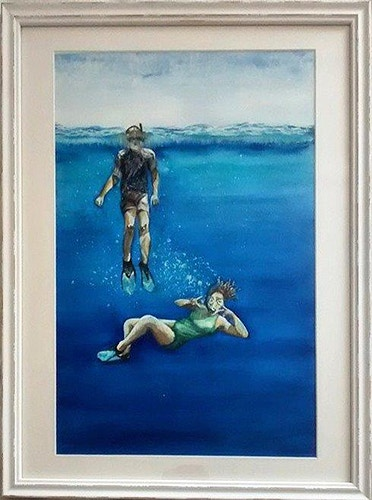 I'd Like to be Under the Sea - in Fiji - Di Cox Gallery