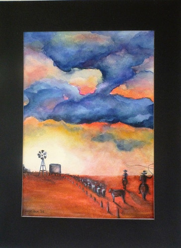 Unframed Watercolour Gallery - Di Cox Gallery