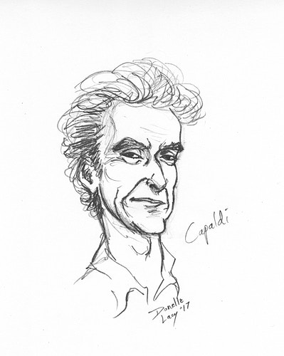 Capaldi - Donelle Lacy Illustration