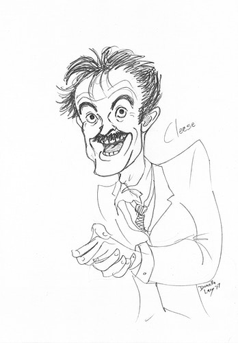 Mr Fawlty - Donelle Lacy Illustration