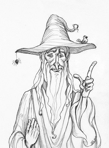 Gandalf - Donelle Lacy Illustration