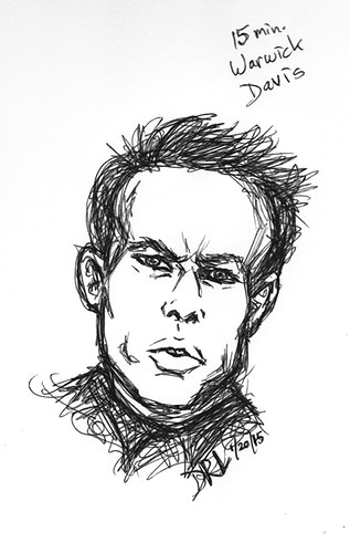 Warwick Davis - Donelle Lacy Illustration