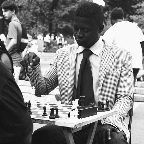 CHESS | Union Square, NYC - Doug Segars