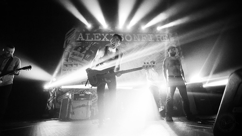 Alexisonfire - 2012 - Dustin Rabin Photography