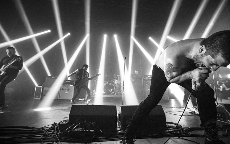 Alexisonfire - Dustin Rabin Photography