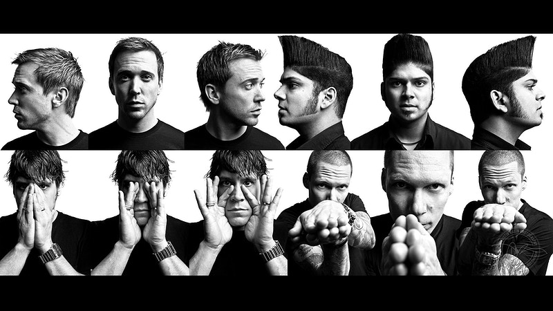 Billy Talent - 2009 - Dustin Rabin Photography