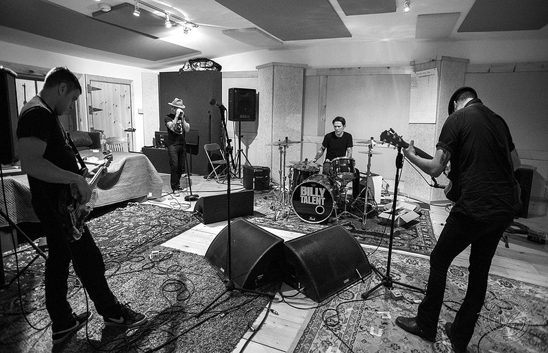 Billy Talent - Rehearsal, 2014 - Dustin Rabin Photography