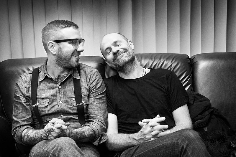 Dallas Green & Gord Downie - 2010 - Dustin Rabin Photography