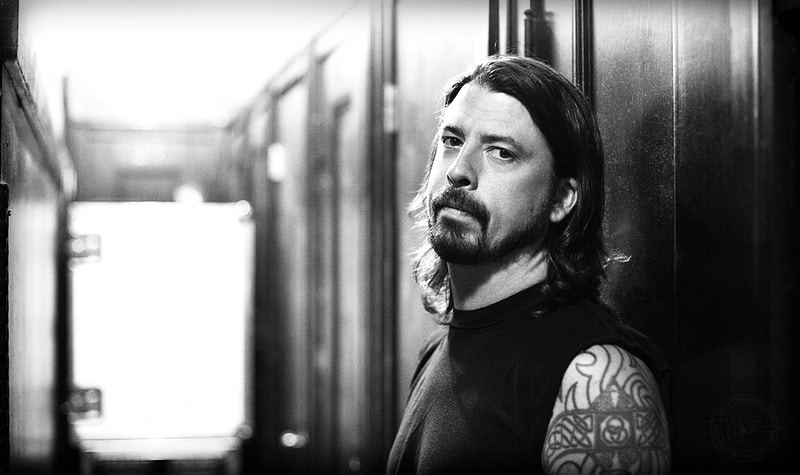 Dave Grohl, Them Crooked Vultures - 2009 - Dustin Rabin Photography