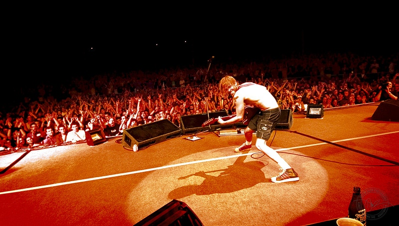 Foo Fighters - 2005 - Dustin Rabin Photography