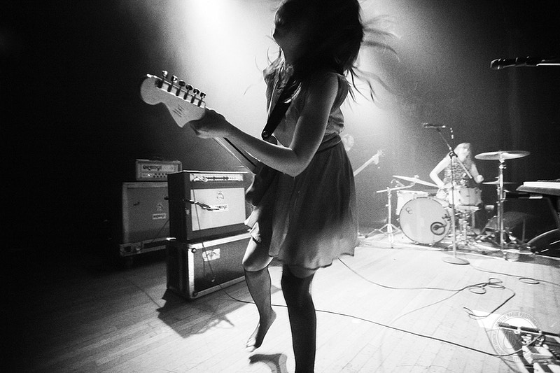 Le Butcherettes - 2014 - Dustin Rabin Photography