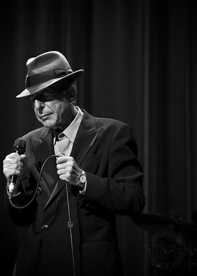 Leonard Cohen - 2008 - Dustin Rabin Photography