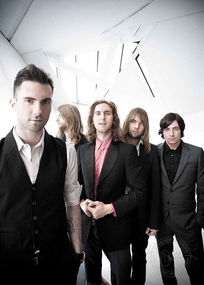 Maroon 5 - 2007 - Dustin Rabin Photography