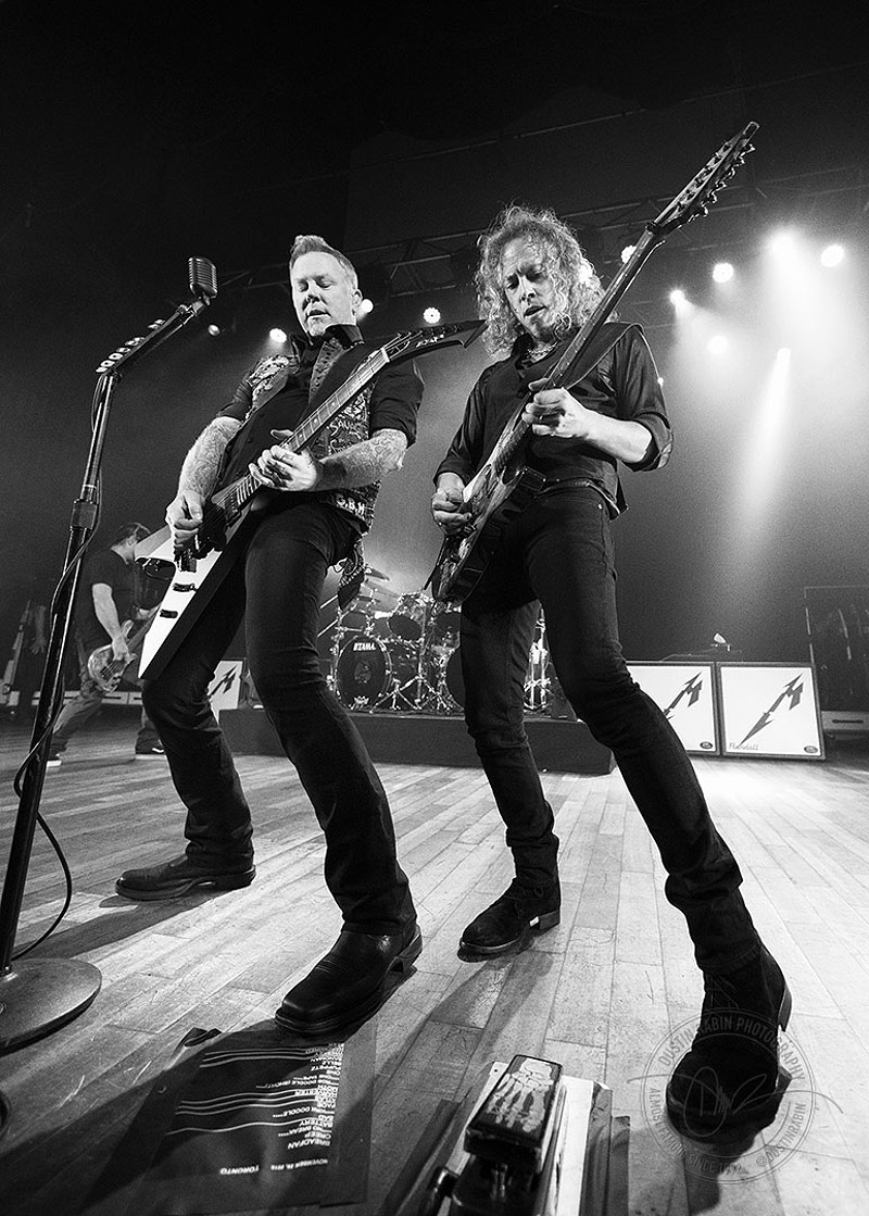 Metallica - Dustin Rabin Photography