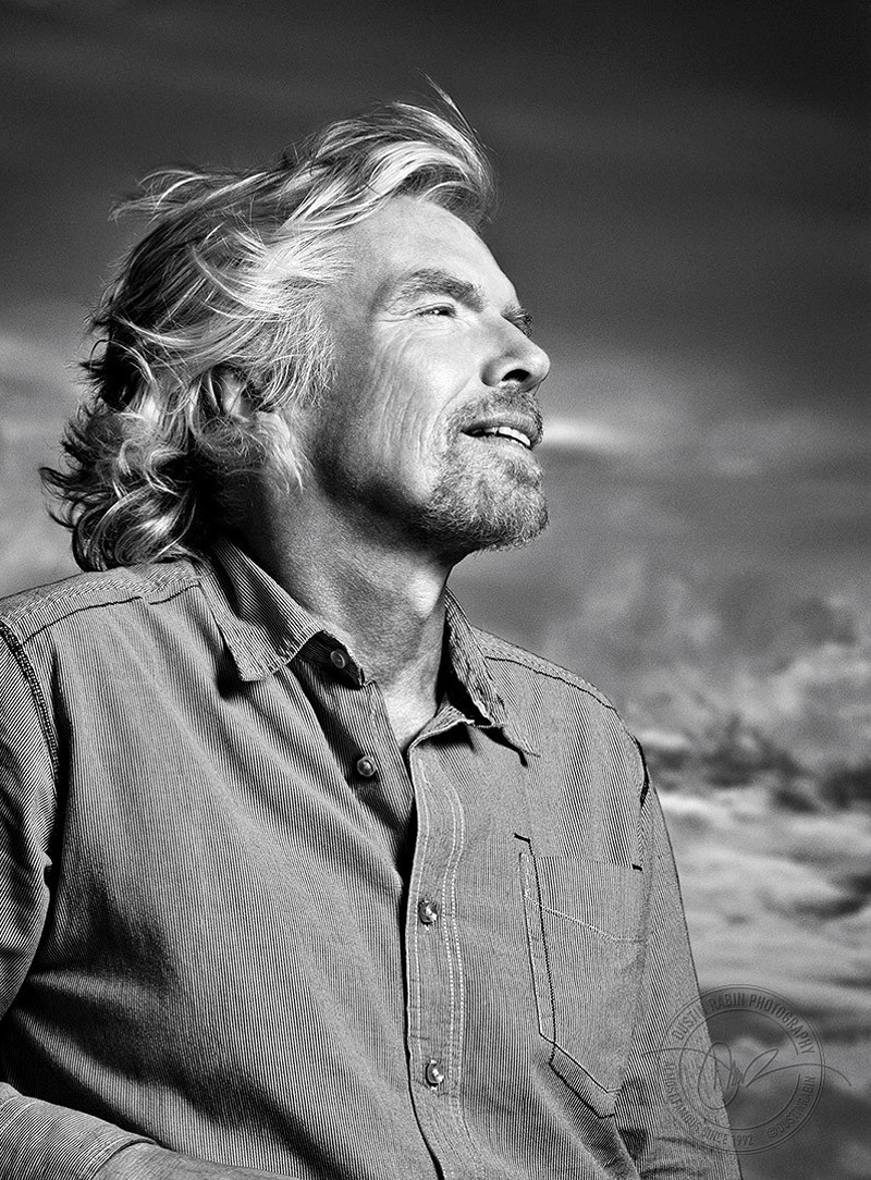 Richard Branson - 2008 - Dustin Rabin Photography