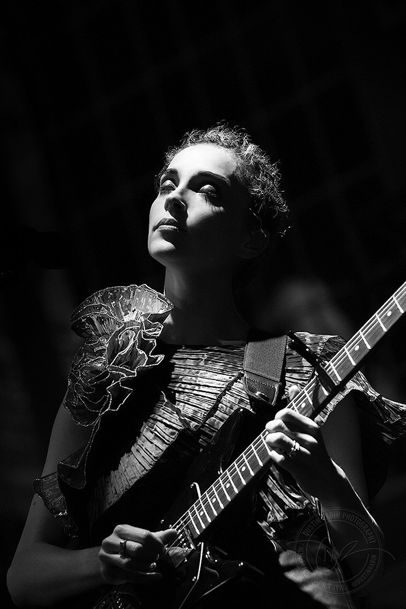 St. Vincent - 2014 - Dustin Rabin Photography